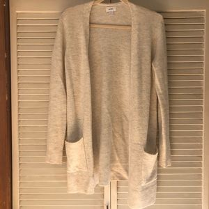 Light grey old navy cardigan